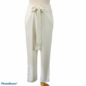 POTTER'S POT White Pants with Tie